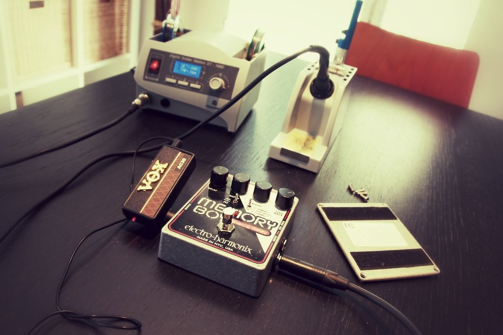 Electro Harmonix Memory Boy auf dem Prüfstand